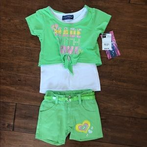 Other - Toddler Top and Shorts Outfit Size 2T